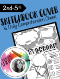 2nd-5th Sketchbook Cover with Comprehension Check