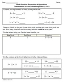 (2nd 9 Weeks) 1st Grade Common Core Math Worksheets [BUNDLED]