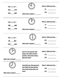 (2nd 9 Weeks) 2nd Grade Math Journal Strips: common core aligned