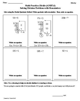 (2nd 9 Weeks) 4th Grade Common Core Math Worksheets [BUNDLED]