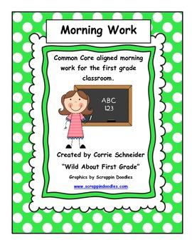 Morning Work (CCSS) (2nd 9 Wks)