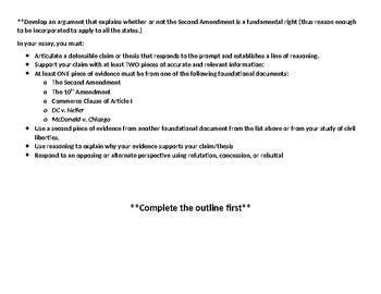 2nd amendment argumentative essay homework for the children