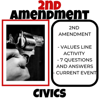 2nd Amendment Lesson - Free - Civics - PPT/KEYNOTE