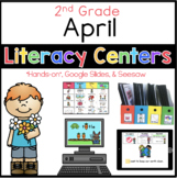 2nd Grade April Literacy Centers