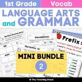 1st Grade Language Arts No-Prep Printables Bundle 2 (Common Core or Not)
