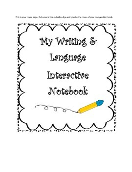 2nd CCSS Grade Writing Interactive Notebook ~ AWESOME ELA SECOND ~ YEAR LONG