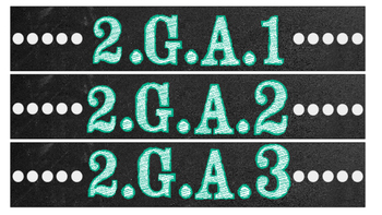 2nd Grade Common Core Math/Reading Chalkboard Labels (Sterilite Containers)