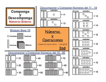 2nd Compose and Decompose (Spanish Version)