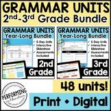 Digital Interactive Grammar Lessons | Year-Long Bundle | 2nd & 3rd | Google Apps