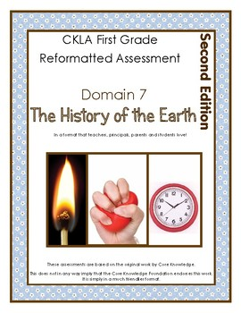 2nd Edition CKLA Grade 1 Domain 7 The History of the Earth