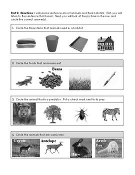 2nd Edition CKLA Grade 1 Domain 8 Animals and Habitats