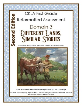 2nd Edition CKLA Grade 1 First Domain 3 Different Lands, Similar Stories