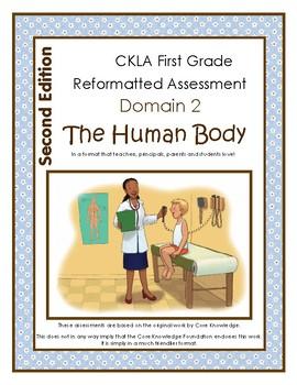 2nd Edition CKLA Grade 1 Human Body Assessment