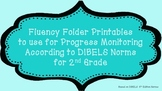2nd Fluency Folder for Progress Monitoring According to DIBELS Norms