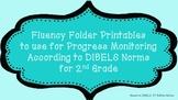 2nd Fluency Folder for Progress Monitoring According to DI