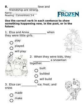 2nd - Frozen Theme