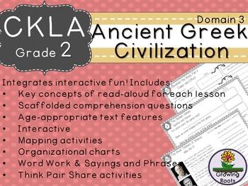 2nd GRADE LEVEL LICENSE:CKLA 2nd Ancient Greek Civilization Companion Domain 3