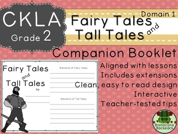 2nd GRADE LEVEL LICENSE:CKLA 2nd Fairy Tales and Tall Tales Companion Domain 1