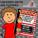 2nd GRADE MATH 2016 VIRGINIA SOL INTERACTIVE NOTEBOOK