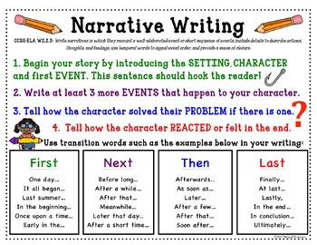 2nd GRADE Narrative, Informational and Opinion WRITING