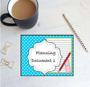 2nd GRADE TEKS planning Document Unit 1