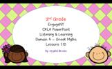 GREEK MYTHS CKLA Listening and Learning BUNDLE Domain 4 AL