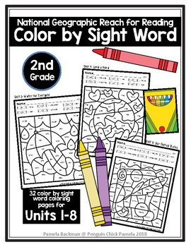 2nd Grade National Geographic * Reach for Reading * COLOR ...