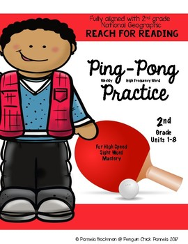 2nd Gr PING-PONG HFW PRACTICE Aligned with NATIONAL GEOGRAPHIC REACH for READING