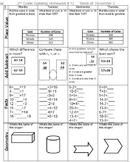 2nd Gr Spiraling Math HW (Word Format)
