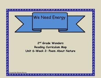 2nd Grad Wonders Reading Curriculum Map Unit 6-Week 2