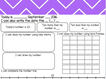 2nd Grade 1st Quarter Math Morning Work: VA SOLS