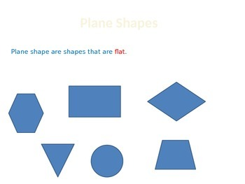2nd Grade 2G.1 Plane Shapes Lesson