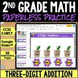 2nd Grade 3-Digit Addition to 1,000 Google Classroom Distance Learning 2.NBT.7