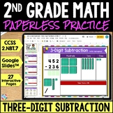 2nd Grade 3-Digit Subtraction to 1,000 Google Classroom Distance Learning 2.NBT7