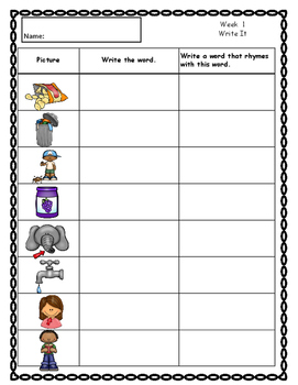 2nd Grade  Spelling Word Study Bundle