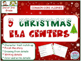2nd Grade / 3rd Grade 5 Christmas ELA / Liteacy Centers. C