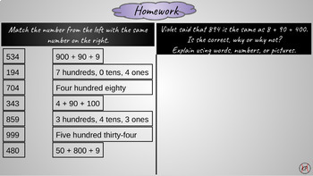 2nd Grade: 4 Step-By-Step Math Lessons for CCSS  2.NBT.A.1a