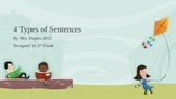 2nd Grade 4 Types of Sentences