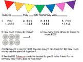 2nd Grade 4th Quarter Math Morning Work:VA SOLS