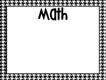 2nd Grade ALABAMA Black and White Standards