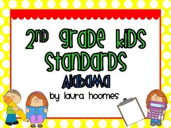 2nd Grade ALABAMA Kids Standards 2