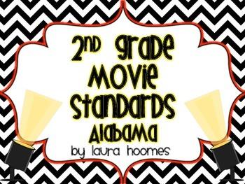2nd Grade ALABAMA Movie Standards