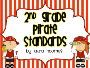 2nd Grade ALABAMA Pirate Standards