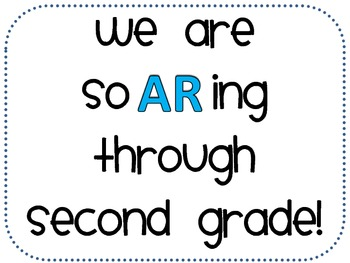 2nd Grade Accelerated Reader Classroom Sign