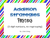 2nd Grade Addition Strategies Posters (2-digit, no regrouping)