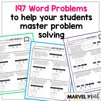 2nd Grade Addition & Subtraction Problem Solving Notebook (Level 2A)