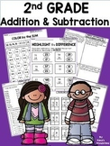2nd Grade Math Worksheets: ADDITION and SUBTRACTION 2nd Grade