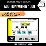 2nd Grade Addition within 1000 | Google Classroom™ | Dista