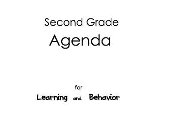2nd Grade Agenda