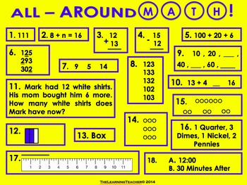 2nd Grade All-Around Math (Common Core Math Review)!